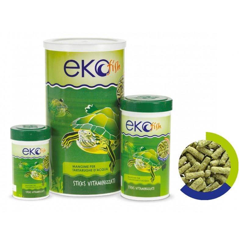 Mangime eko fish stick per tartarughe d 39 acqua 1000 ml for Mangime tartarughe acqua